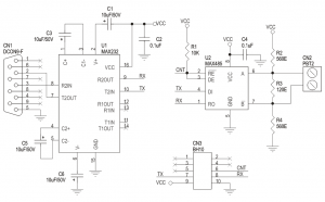 Unitronics Plc Digital Input Wiring Diagram together with Pull Up Resistor Explained besides Transmitter Schematic likewise 0503 Shift Register Binary moreover Rs232 Or Rs485 Module. on arduino rs485 circuit