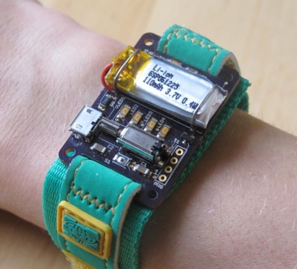 Energy Wristband monitors energy usage on home