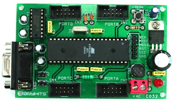 Max232 Ic Chip Connection Diagram For The Max232 Level Shifter Is