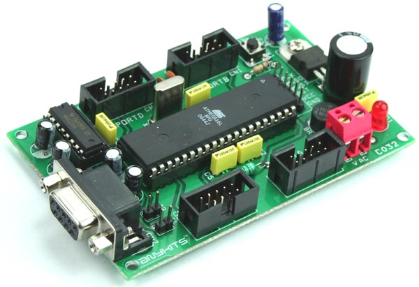 ATmega16/32 Development Board