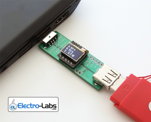 DIY USB Line Power Meter Stick