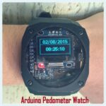 Arduino Watch With Altitude, Temperature, Compass And Pedometer