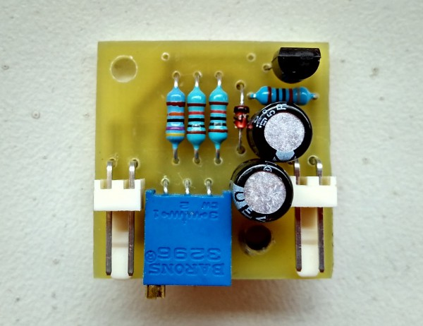 Simple and small temperature fan control