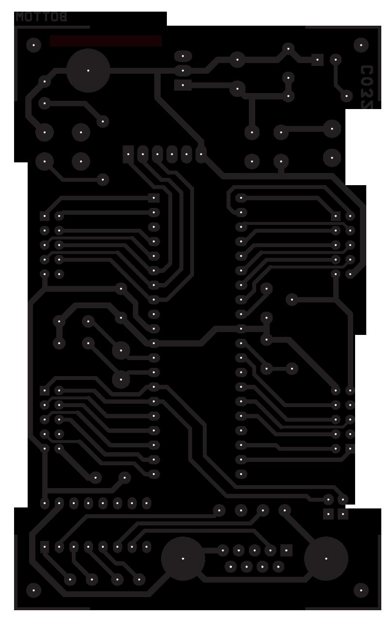 Atmega16 32 Development Board Electronics Lab Jigmod Electronic Circuit Building System Electronicslab Pcb