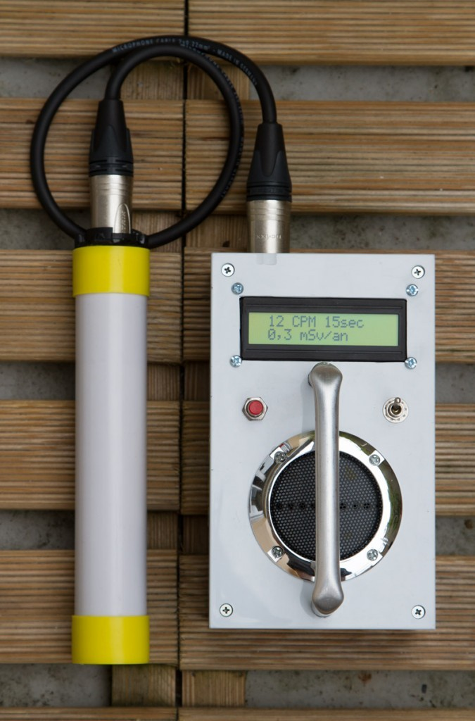 Geiger counter with SBM20 tube