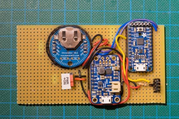 DHT22 Humidity datalogger