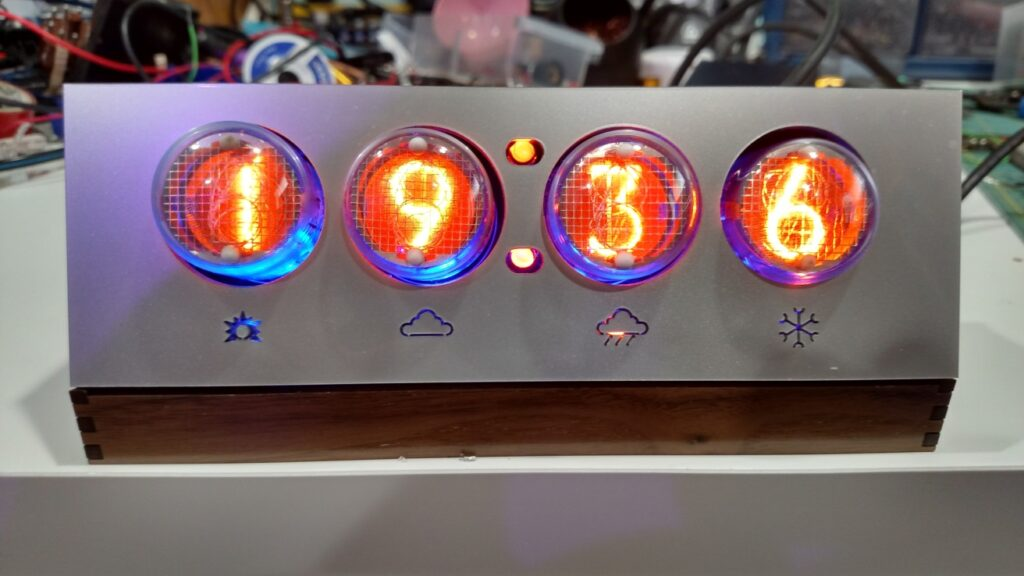 WiFi-based Weather Forecast and Clock