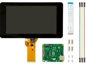 Plug-in touchscreen makes a Raspberry Pi tablet