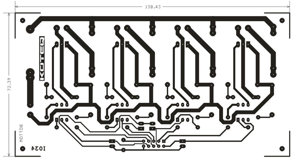 4 channel triac board