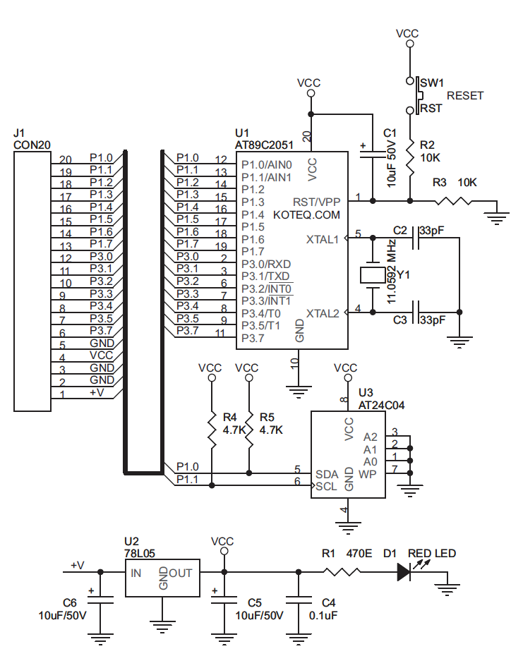 AT89C2051_DEV_STICK_schematic