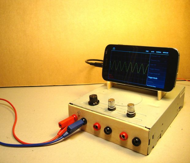 Oscillophone  Use Your Smartphone As An Oscilloscope    Signal Generator