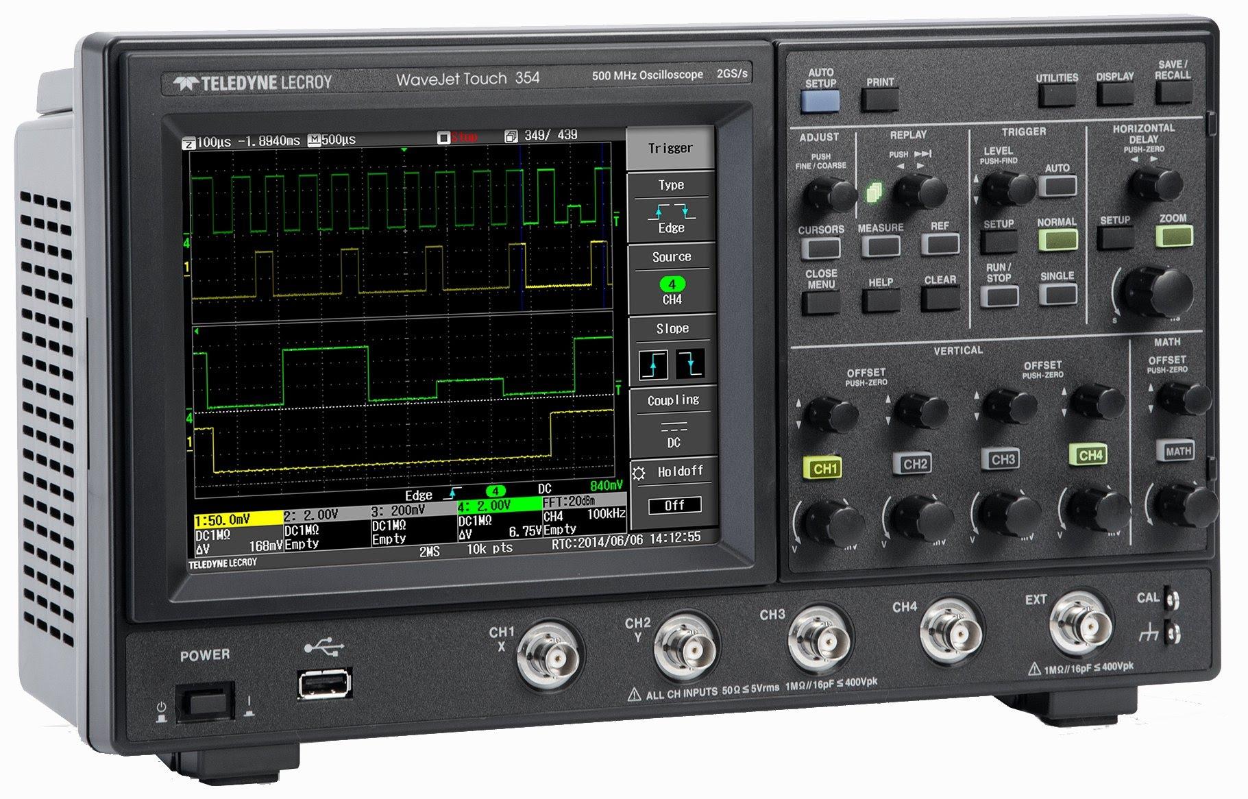 EEVblog #790 – Lecroy Wavejet 354 Touch Oscilloscope Teardown