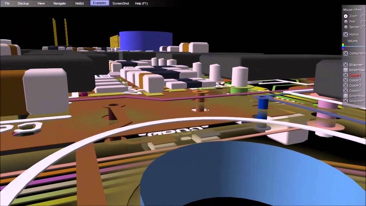 ZofzPCB: FREE 3D Gerber Viewer