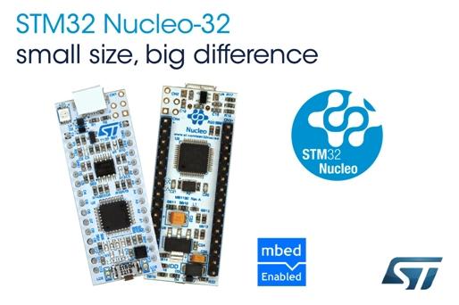 STM extend Nucleo range