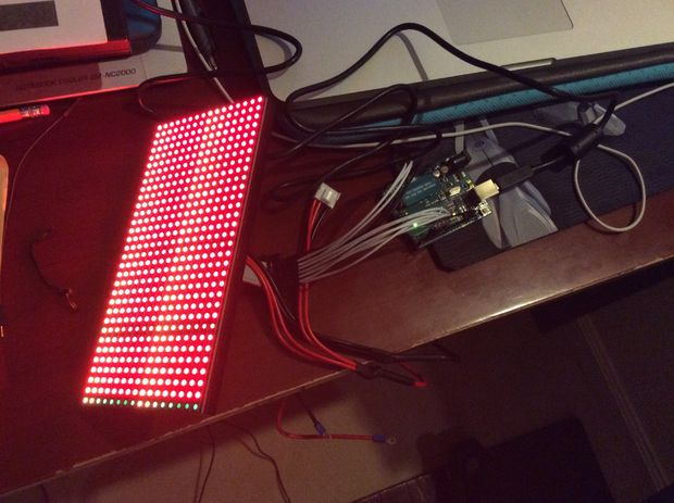 LED Wave Display
