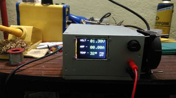 3A Variable Bench PSU with Color Display