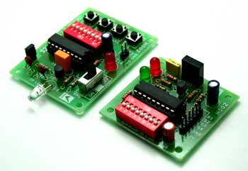 4 CHANNEL INFRARED REMOTE MODULE