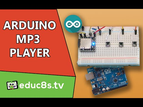Arduino Project: MP3 player using Arduino and DFPlayer mini MP3 player module
