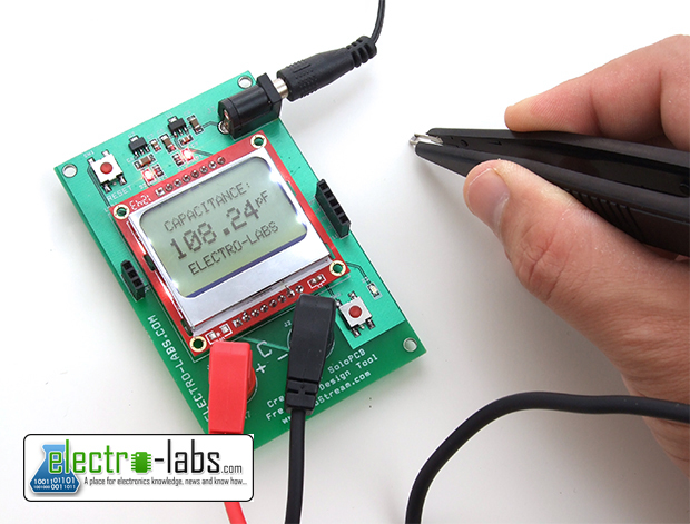 capacitance meter project How to build capacitance meter circuit diagram position range a 1 uf b 100 nf c 10 nf d 1 nf  this project will prove useful to the constructor,.