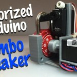 DIY Motorized Combo Lock Cracking Device