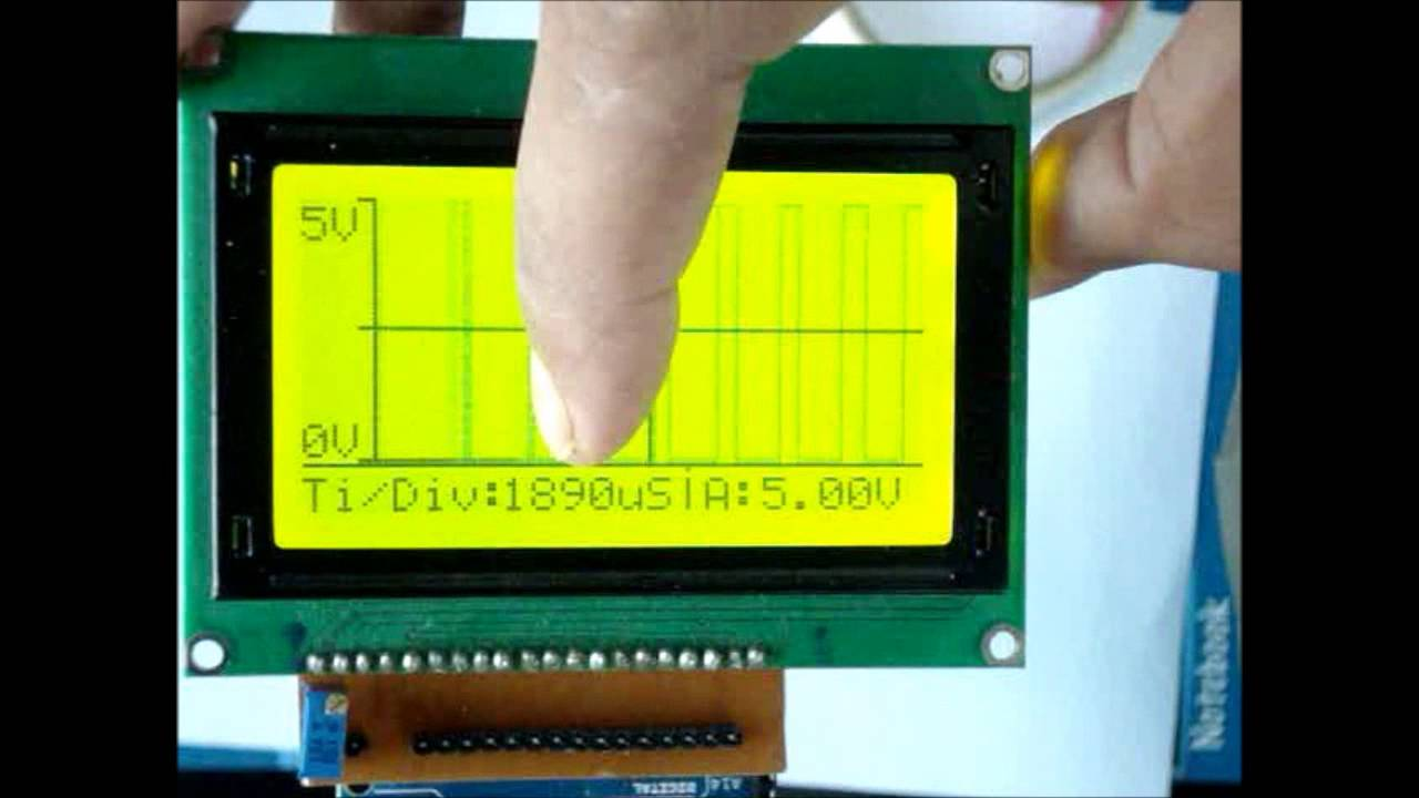 DIY Oscilloscope using Arduino and Graphic LCD - Electronics-Lab