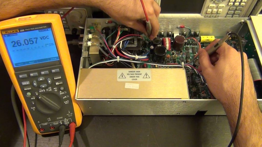 Teardown & Repair of a Stanford Research PS350 5000V, 25W High Voltage Power Supply
