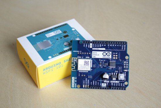 Arduino WiFi Shield 101 is on sale