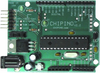 CHIPINO – The Microchip PIC Based Arduino Style Module