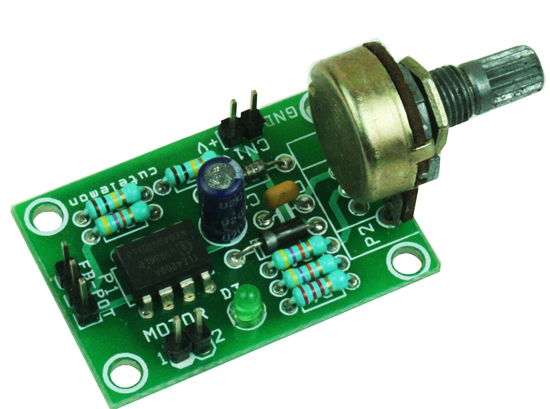 DC Servo Motor Driver – Analog Closed Loop Control
