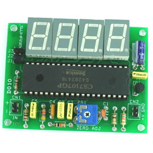 Digitalclockcircuitproject Led Digital Clock Circuit With Voice