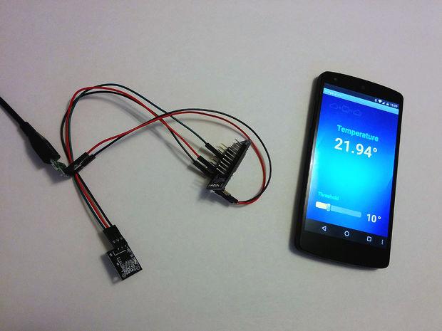 Temperature Monitor with ESP8266