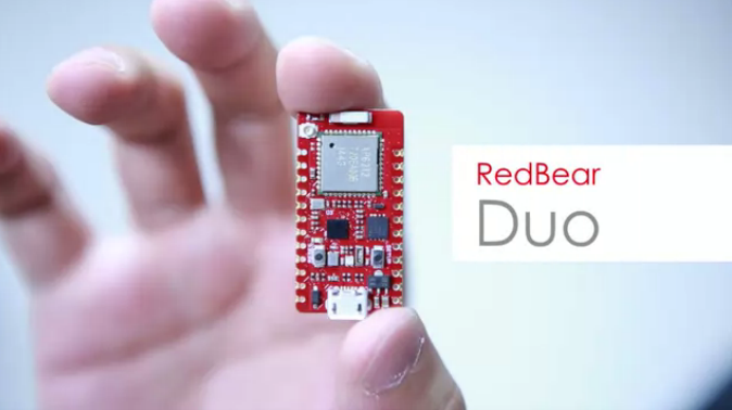 RedBear Duo: A small and powerful Wi-Fi + BLE IoT board