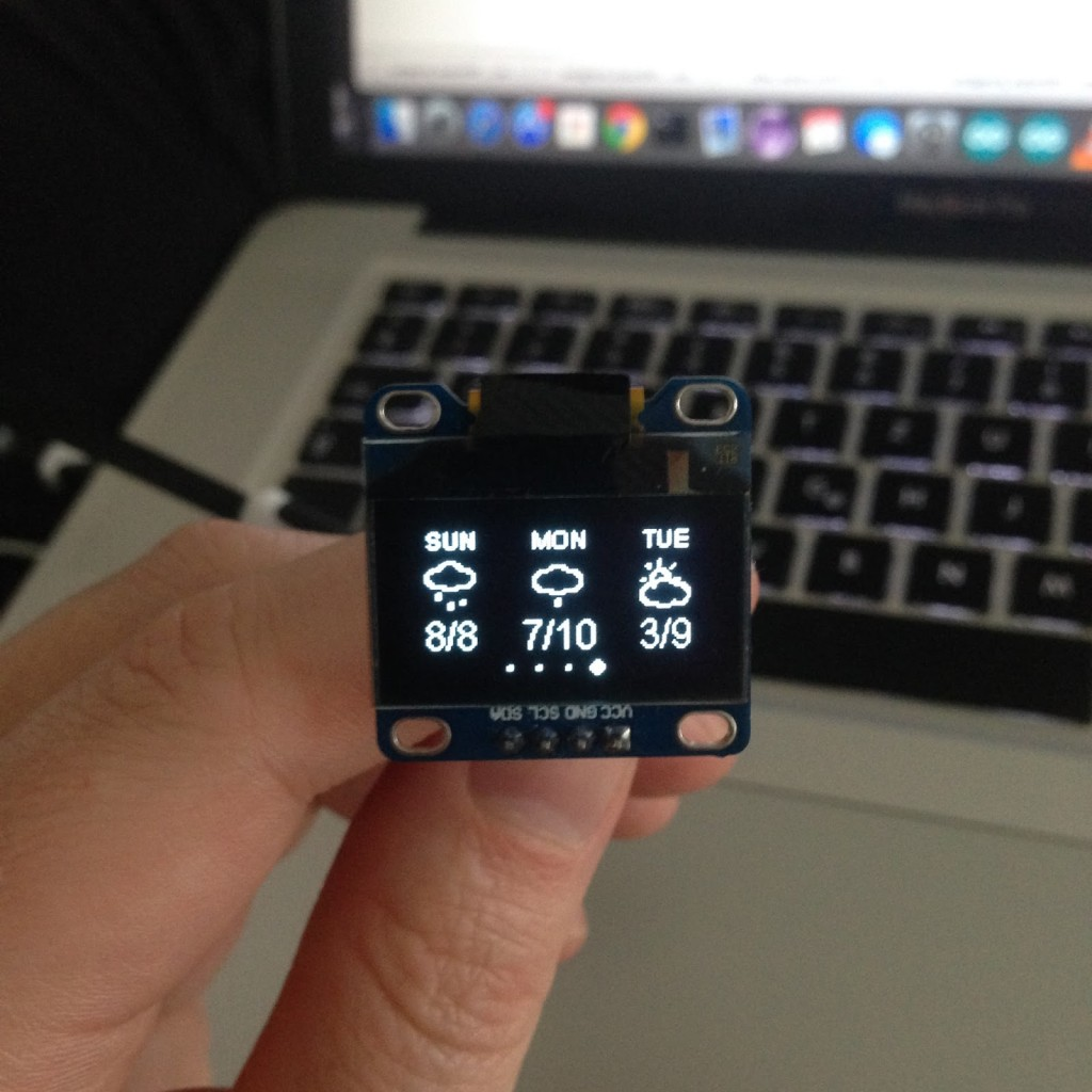 ESP8266 Weather Station