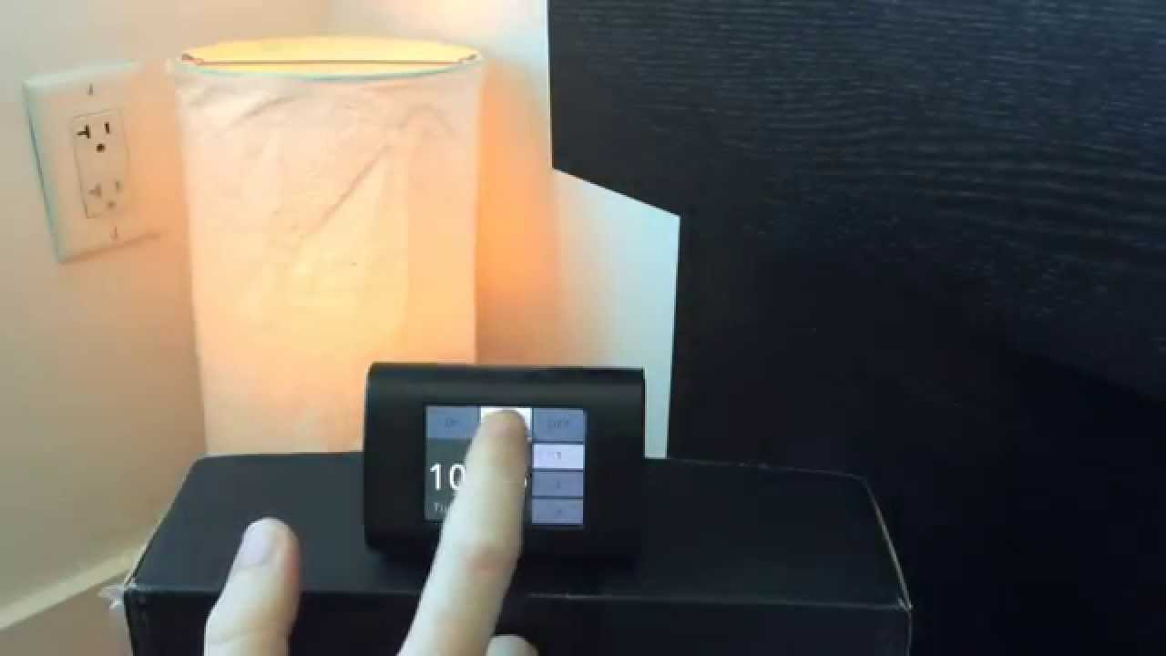 ESP8266-based touchscreen clock and light controller with WiFi