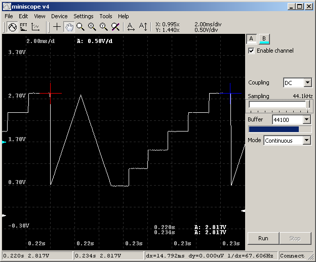 Choosing $1 sound card for DC-capable low speed oscilloscope
