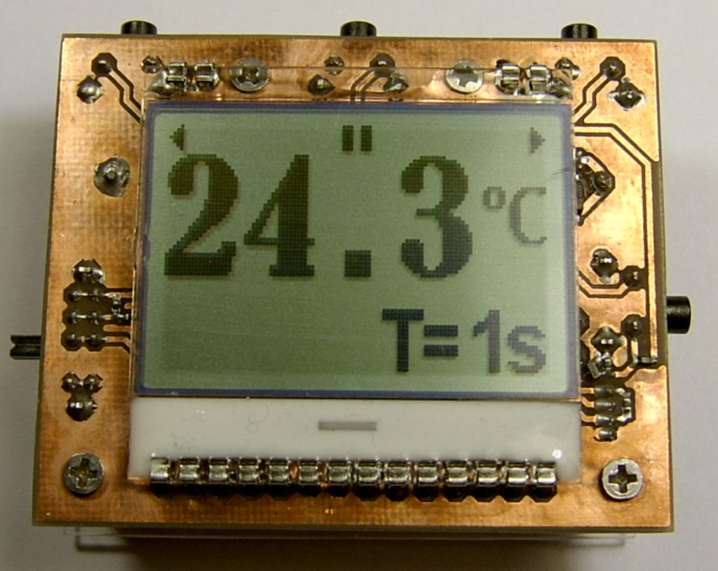 Contactless Infrared Thermometer (Pyrometer) using MLX90614 and MSP430
