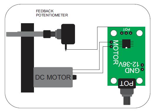 Servo Motor on Schematic Diagram
