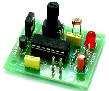 Light To Audio Oscillator