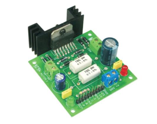Dual Motor L298 H-Bridge Motor Control