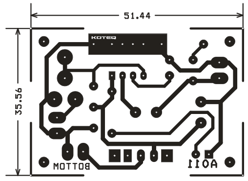 1 6w mono audio amplifier