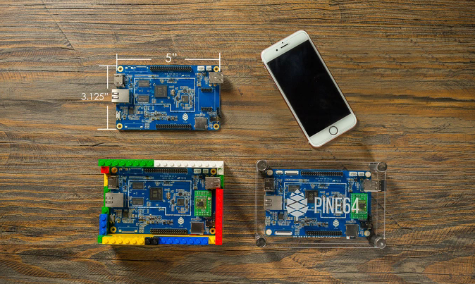 PINE A64, First $15 64-Bit Single Board Super Computer