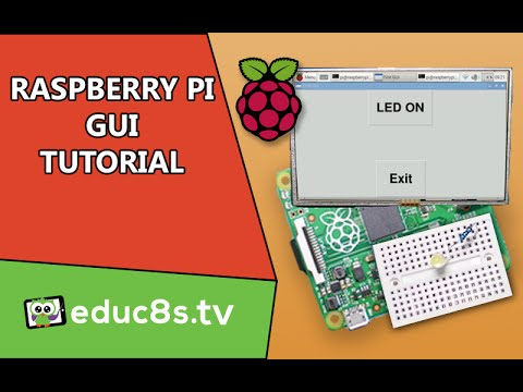 Raspberry Pi Tutorial: Create your own GUI with TkInter and Python