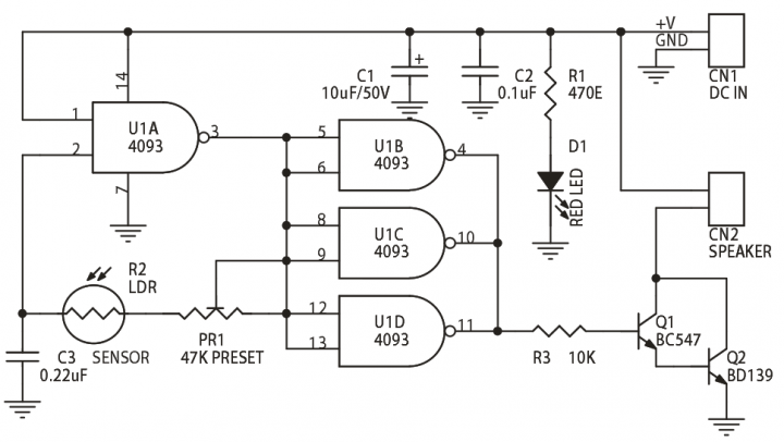 light to audio oscillator