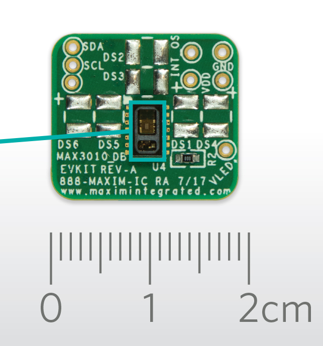 MAX30102 – High-Sensitivity Pulse Oximeter and Heart-Rate Sensor