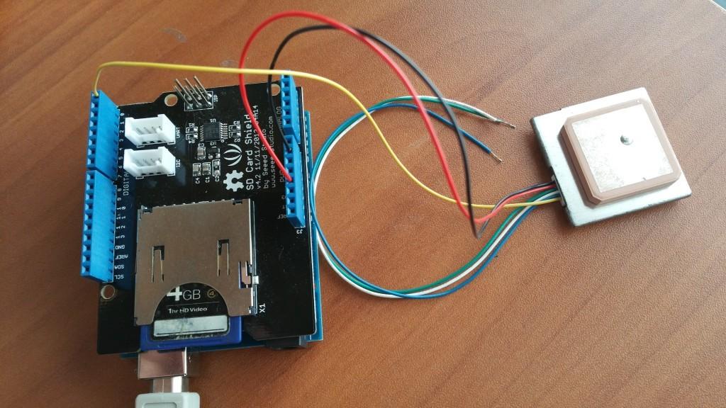 Simple Arduino SD-Card GPS/NMEA Datalogger