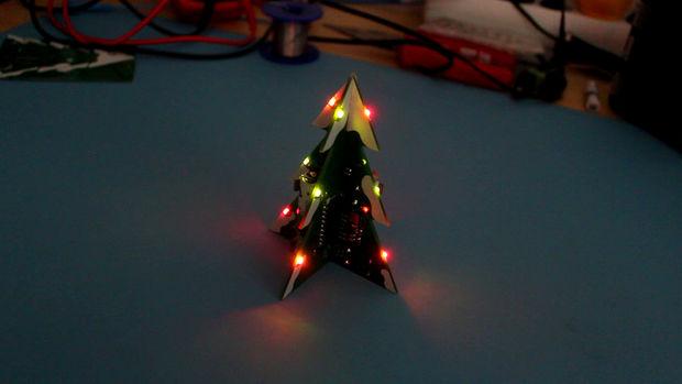 PCB Christmas tree
