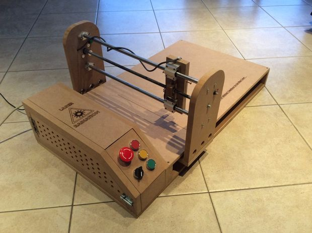 Arduino-Powered Laser Engraver