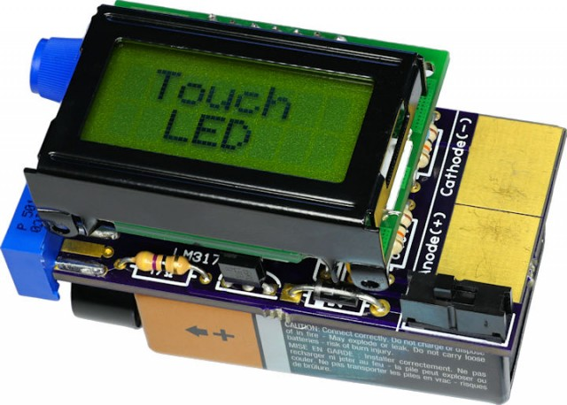 LED Tester with LCD Display