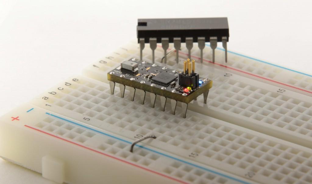 OSHChip – general purpose processor board in DIP format