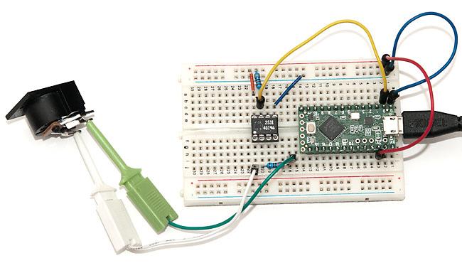 MIDI to USB Adapter with Teensy